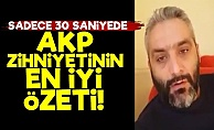 AKP'yi 30 Saniyede Öyle Bir Anlattı ki...