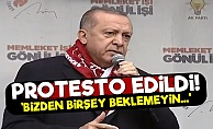 Erdoğan'a Sivasta Protesto Şoku!