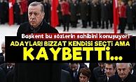 Bakanı da Kabul Etti: Erdoğan Kaybetti...