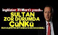 Times: Sultan Zor Durumda Çünkü...