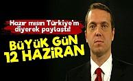 Cem Uzan: Hazır mısın Türkiye'm...