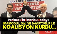 Perinçek'in Adayı: İmamoğlu Koalisyonun Adamı...