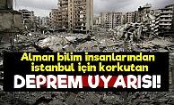 Almanlardan Korkutan Deprem Uyarısı!