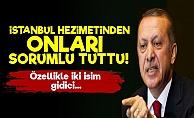 Erdoğan İki İsmin Üzerini Çizdi!