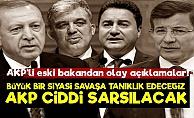 'AKP Ciddi Sarsıntı Yaşayacak Çünkü...'