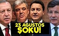 Babacan, Davutoğlu ve Gül'e 23 Haziran Şoku!