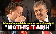 İşte Babacan'ın Partiyi Kuracağı Tarih!