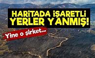 İzmir'de İşaretli Yerler Yanmış!