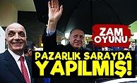 Türk-İş Pazarlığı Sarayda Yapmış!