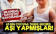 """""""63 Bin Çocuğa Tarihi Geçmiş Aşı Yapıldı"""""""