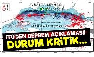 İTÜ: İstanbul İçin Durum Kritik...