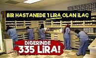 Kimi Hastanede 1 Lira Kimi Hastanede 335 Lira!