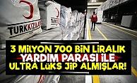 Kızılay'da Yardım Paraları Lüks Araçlara Gitmiş!