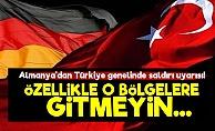 Almanya'dan Türkiye''de Saldırı Uyarısı!