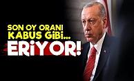 Erdoğan'ın Oyları Eriyor!