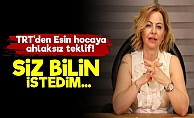 Prof. Esin Davutoğlu: 'TRT Bana Dedi ki...'
