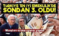 Türkiye 'En İyi Emeklilik' Sıralamasında Sondan 3. Oldu