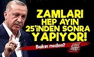 'AKP Zamları 25'inden Sonra Yapıyor Çünkü...'
