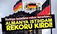 Almanya İstihdamda Rekor Kırdı!