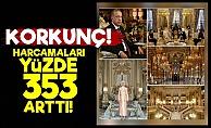 Erdoğan'ların Harcamalarında 'Pes' Dedirten Artış!