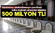Ödenek Hüllesi: 500 Milyon Lira...