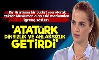 Tuğçe Kazaz'dan Atatürk'e Çirkin Sözler!