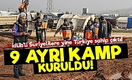 Türkiye, İDLİB'li Suriyelilere 9 Kamp Kurdu!