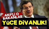 Davutoğlu: AKP'li O Bakanlar Yüce Divanlık