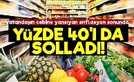 Enflasyonda Son Nokta: Yüzde 40!