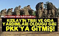Kızılay'ın Yardımları PKK'ya Gitmiş!