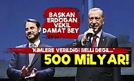 Tam 500 Milyar Lira! Kimlere Verildiği Belli Değil