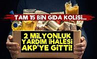 2 Milyon Liralık Yardım İhalesi AKP'ye Gitti!