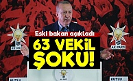 AKP'de 63 Vekil Şoku!