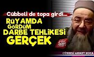 Cübbeli Ahmet de 'Darbe Olabilir' Dedi
