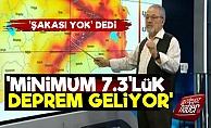 Prof. Görür: En Az 7.3 Büyüklüğünde Deprem Geliyor
