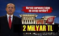 Saray 2 Milyar TL'lik Bağış İçin Adres Gösterdi!