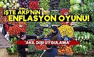 İşte AKP'nin Enflasyon Oyunu!