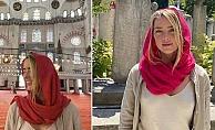 Camiye Sütyensiz Girince Ortalık Karıştı!