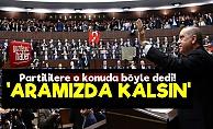 Erdoğan'dan 'Aramızda Kalsın' Talimatı!