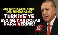 Erdoğan 'Dış Mihrak' Demişti Ama İşin Aslı Başka!