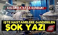 Hastanelere Gönderilen Yazı Gerçeği Ortaya Çıkardı!