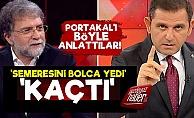 'Fatih Portakal Bırakmadı, Kaçtı'