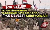 'Suriye'nin Kuzeyinde PKK Devleti Kuruluyor'