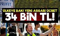 Asgari Ücreti 34 Bin Lira Yaptılar!