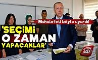 AKP'nin Seçime Ne Zaman Gideceğini Açıkladı!