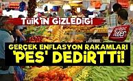 TÜİK'in Gizlediği Enflasyon Rakamları Şoke Etti!