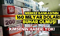 Merkez Bankası'nın 160 Milyar Doları Uçtu!