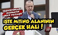 Erdoğan#039;ın Maraş Mitinginde Olay Fotoğraf