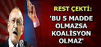 5 MADDE YOKSA KOALİSYON DA YOK...