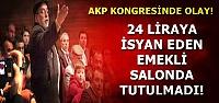 'ADALET' İSTEYEN EMEKLİYİ SALONDAN ATTILAR!